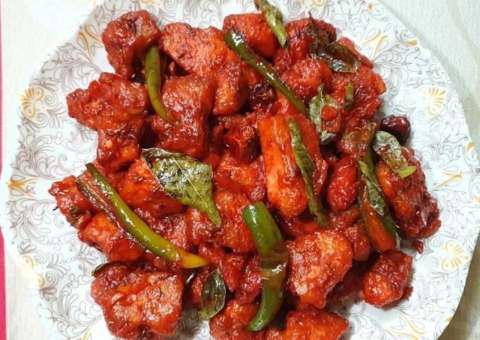 Recipe: Appetizing Chicken 65 recipe   by Food 4 U