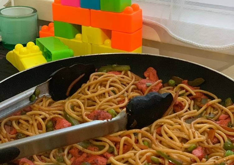 Easiest Way to Make Award-winning Spaghetti #ramadan