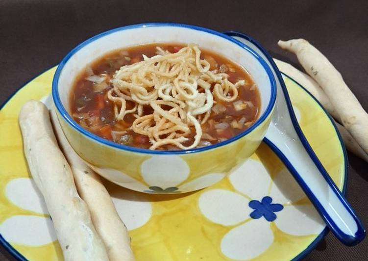 Vegetable Manchow Soup, Choosing Fast Food That's Very good For You