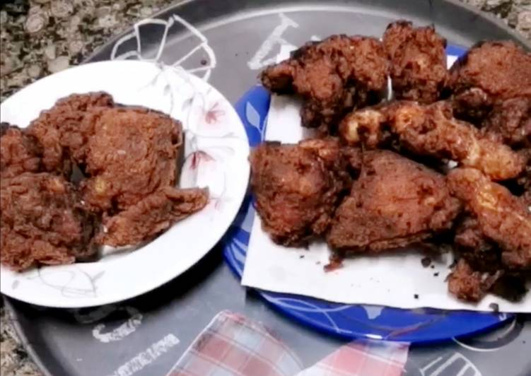 دجاج مقلي أمريكي