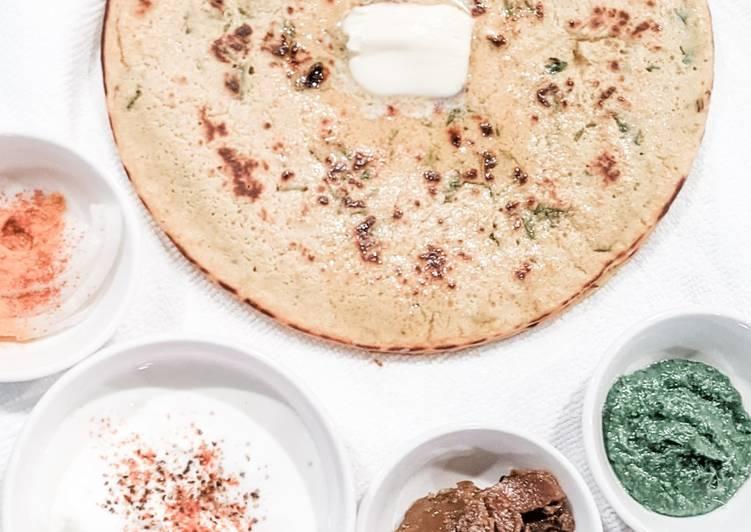 Recipe of Perfect Besan Rotis (Chickpea Pancakes)