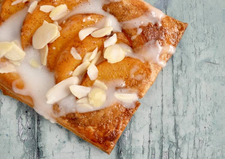 Peach & Almond Tarts