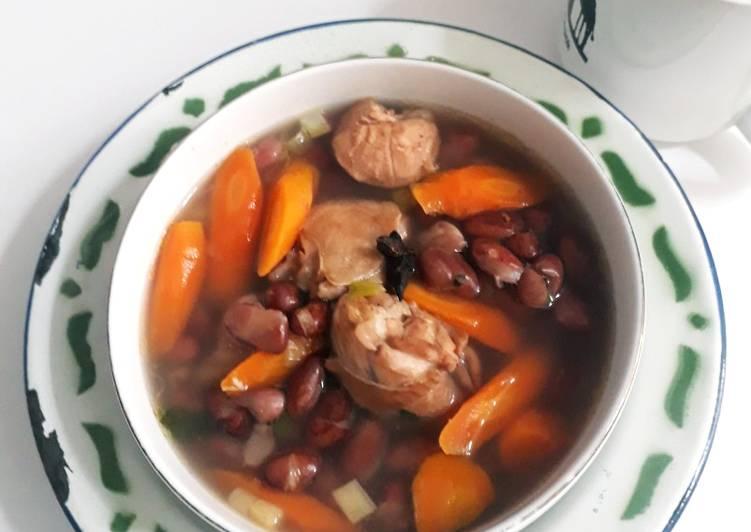 Sup Ayam Kacang Merah