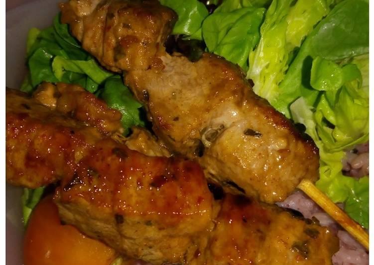 Recipe of Award-winning Simple Beef Satays