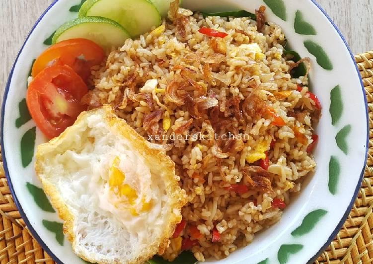 Nasi goreng kampung foto resep utama