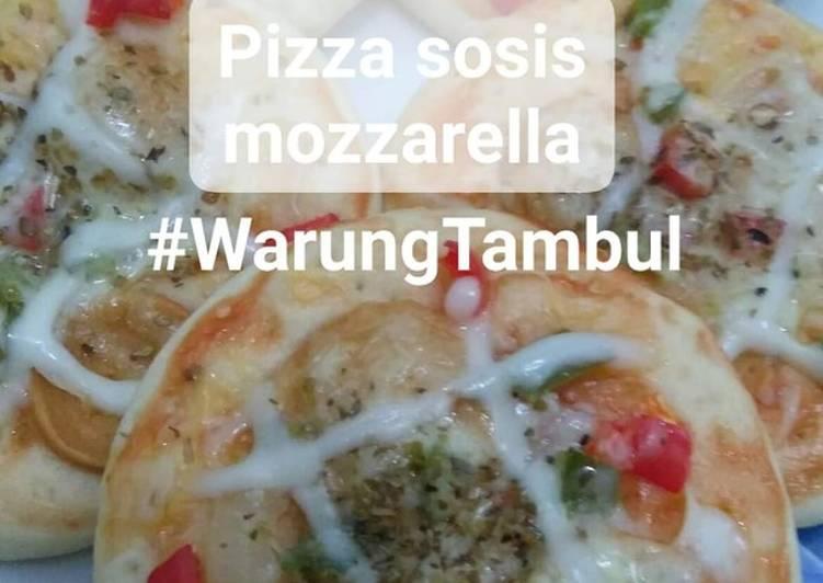 Pizza Mini Sosis Mozzarella