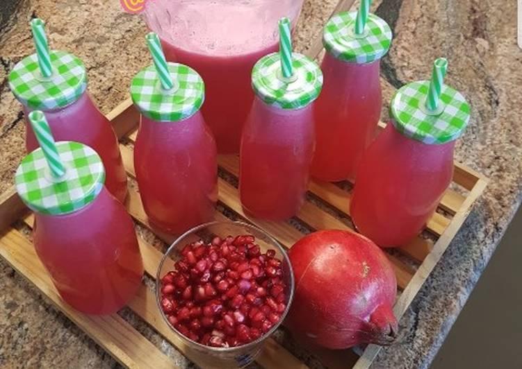 How to Make Favorite Pomergrante juice