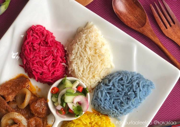 Nasi Minyak 4 Sejiwa & Sambal Daging