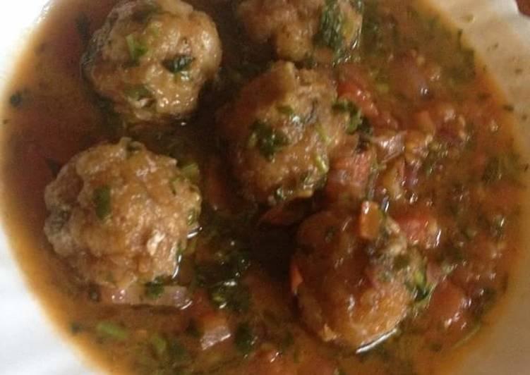 Fish ball stew
