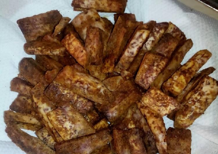 #Baked Nduma chips - Laurie G Edwards