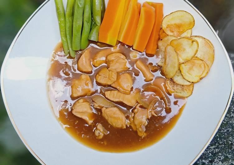 Resep Bistik Ayam Anti Gagal