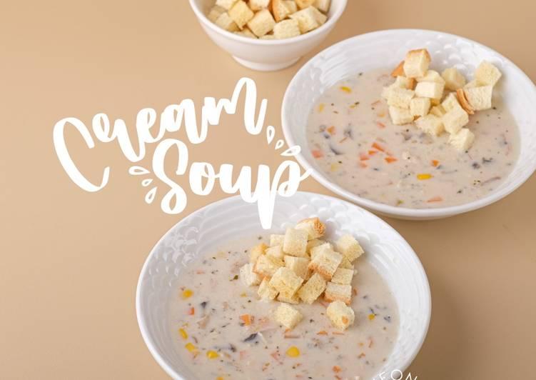 Cream Soup ala KFC