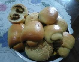 Roti Manis isi, Roti Abon, Roti isi keju