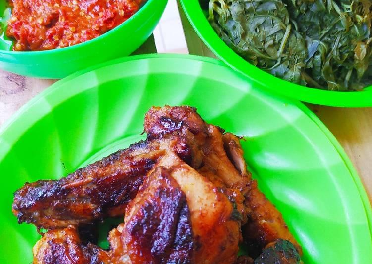 Ayam Bakar Taliwang Teflon ala rumahan