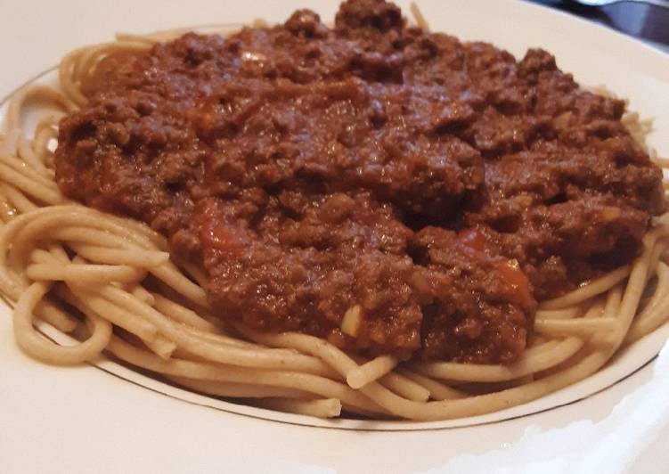 Uncle Tim's Simple Spaghetti