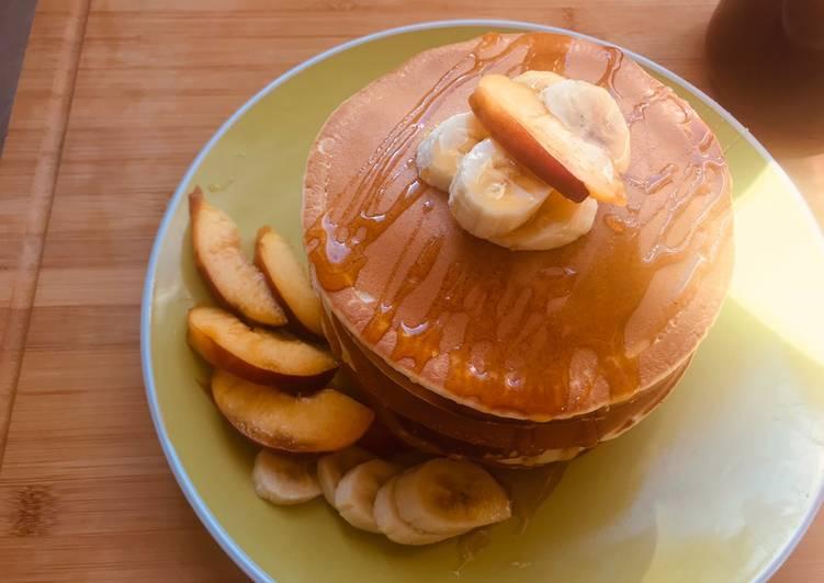 Easiest Way to Make Appetizing Pancakes faciles