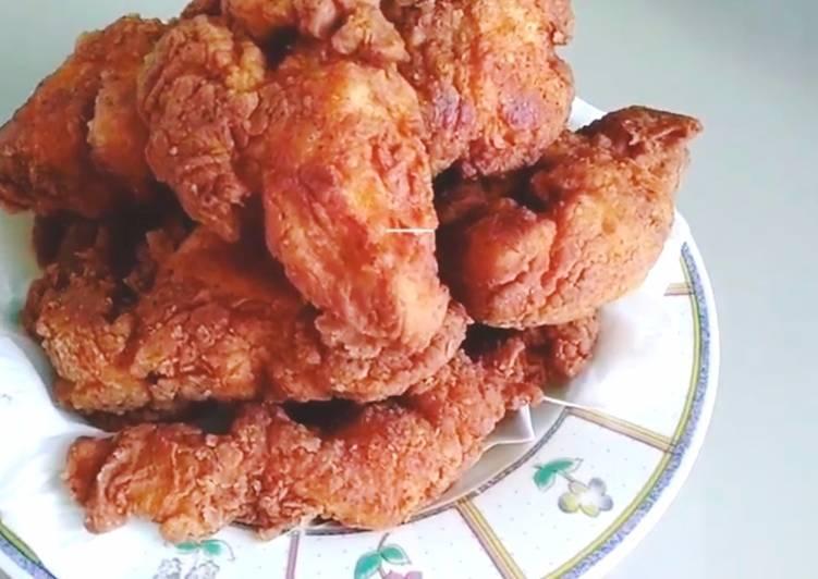 Resep Ayam Goreng KFC O.R, Lezat