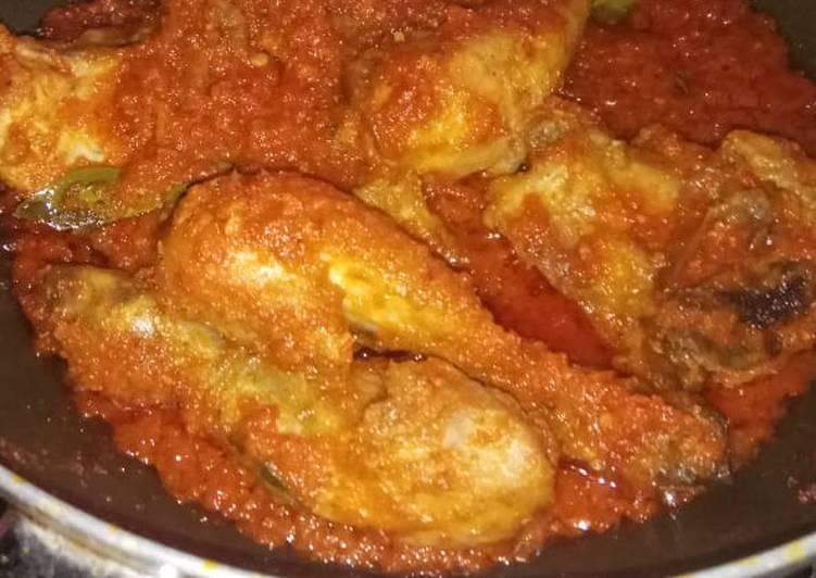 Ayam bumbu rujak lezat