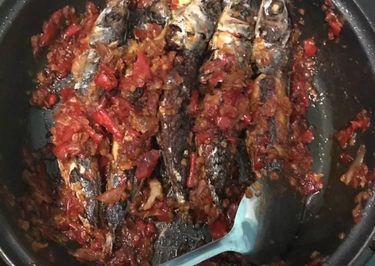 Ikan cue keranjang balado simple😊