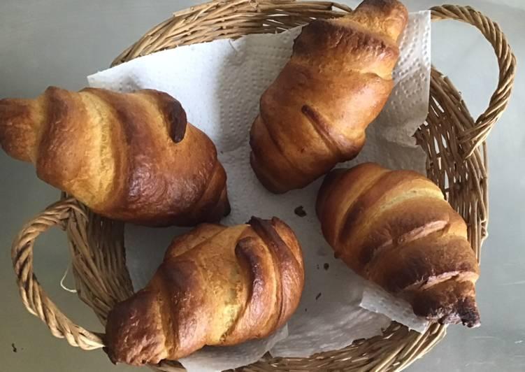 Les Meilleures Recettes de Croissants au beurre