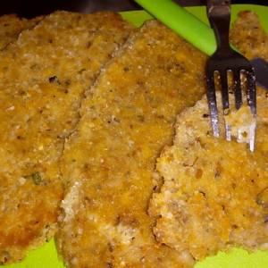 Milanesas de Berenjenas rellenas con queso