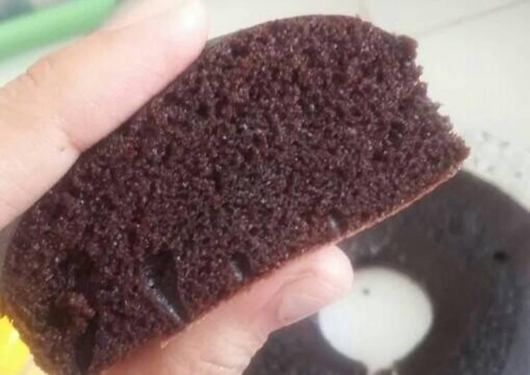 Resep Brownies kukus takaran 8sdm - Anti gagal - no mixer, no oven