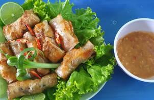 Chả ram tôm Bình Định