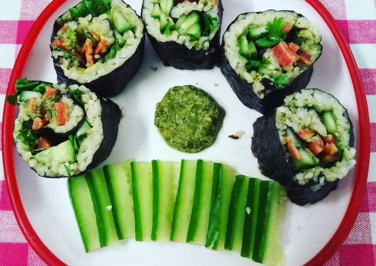 Indian Sushi (Indo-Japanese Fusion)