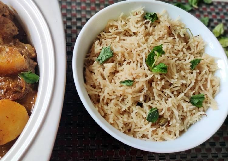 Recipe of Favorite Ghee rice/ kuska rice/kuska biriyani