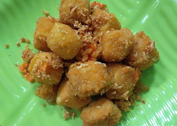 Tahu crispy cabe bawang - cookandrecipe.com
