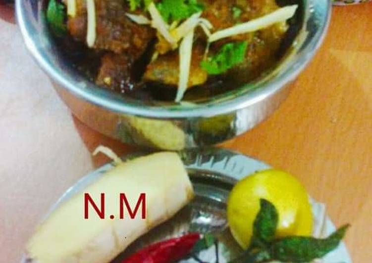 Spicy_Lamb_Karahi.  #DEFENCE_DAY 12