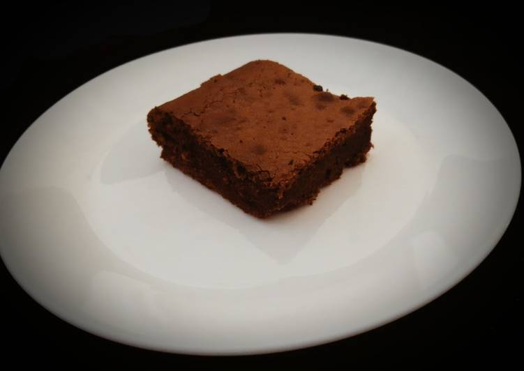 recette Brownie tout choco Le plus simple