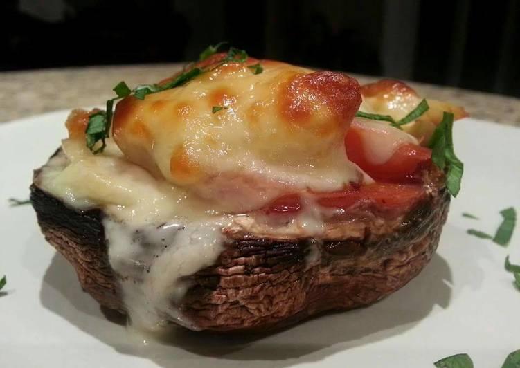 Simple Way to Prepare Ultimate Stuffed Portobello Mushrooms