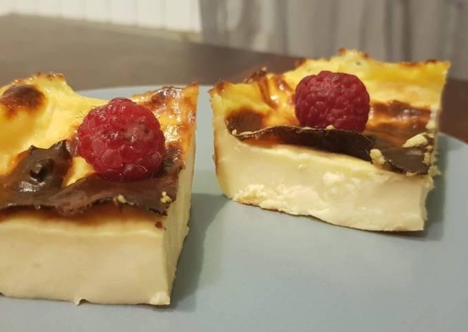 Flan pâtissier sans pâte healthy