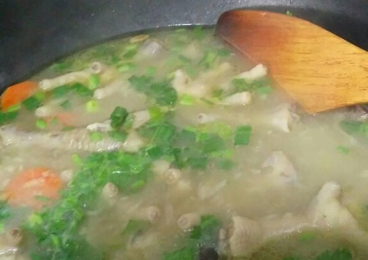 Sup Kaki/Ceker Ayam - velavinkabakery.com