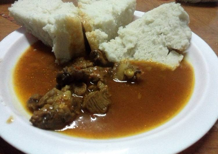Recipe of Perfect Goat meat stew
