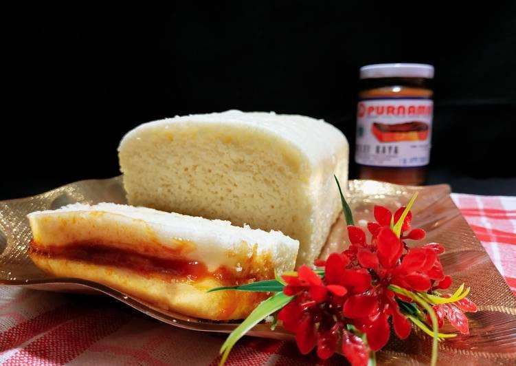 Roti Kukus Srikaya