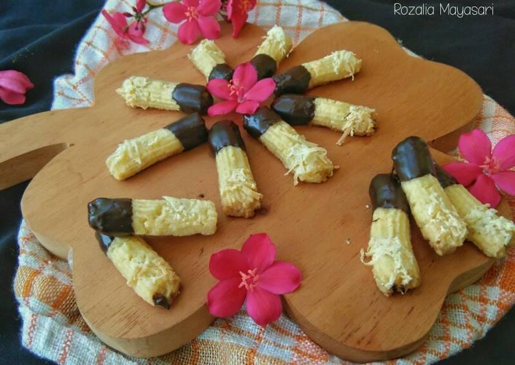 Sweet Cheesy Choco Cookies