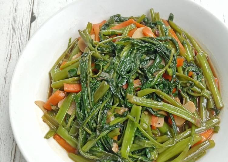 Kangkung saus lada hitam