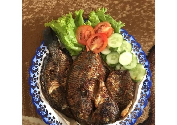 Ikan Nila Bakar Special