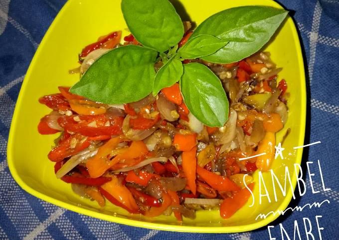 Resep Sambel embe (tumis bawang merah) yang Lezat Sekali
