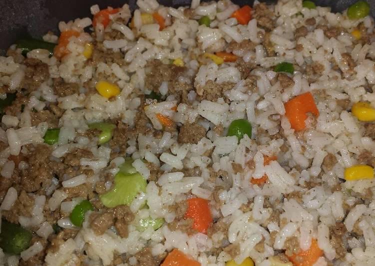 Beefy Rice & Veggies