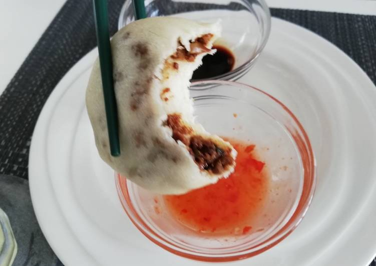 Easy Comfort Dinner Ideas Favorite Bao buns with spicy filling