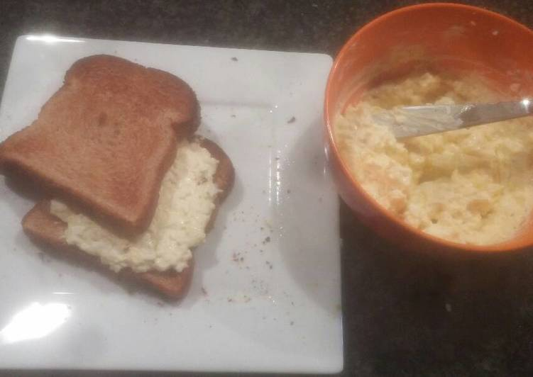 Selecting The Best Foods Will Help You Stay Fit And Also Healthy Sandwich: Egg Salad