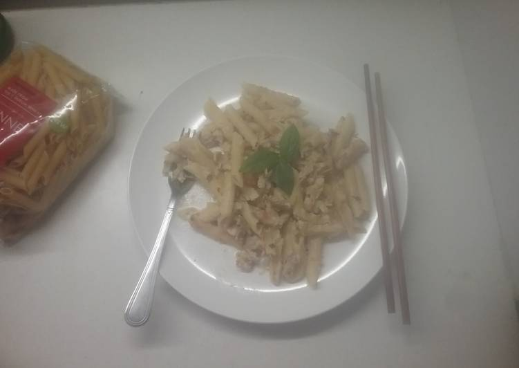 Recipe of Top-Rated One pot creamy chicken pasta
