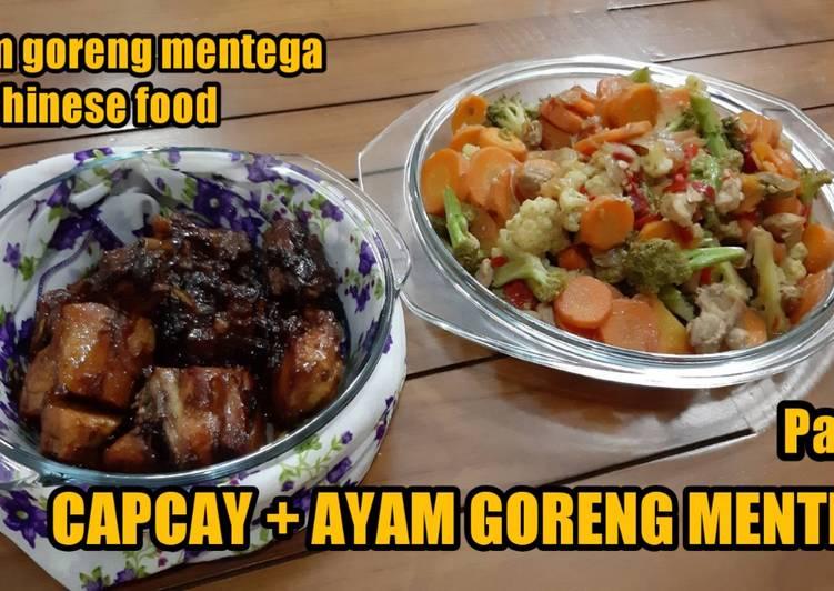 Ayam Goreng Mentega ala chinese food