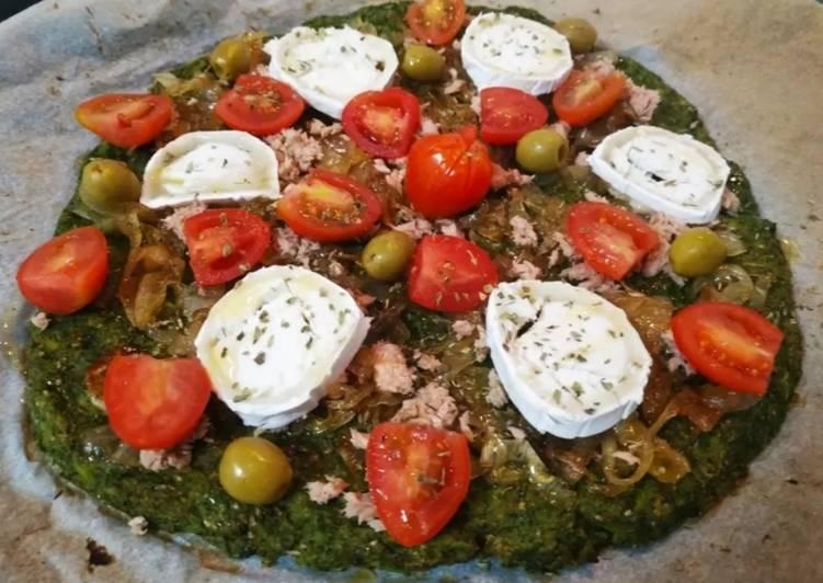 Pizza vegetal mixta