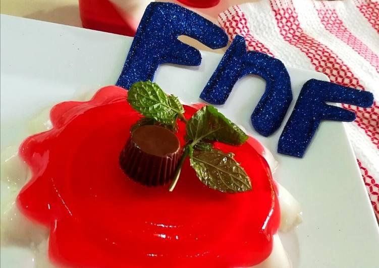 Jelly o Panna Cotta #Foodiesandfriends
