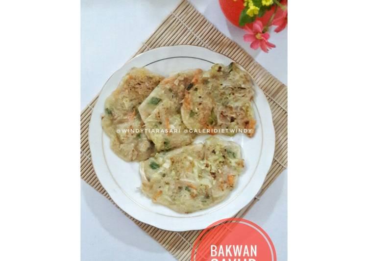 Resep Bakwan Sayur (rendah kalori, cocok utk diet) #GaleriDietWindy