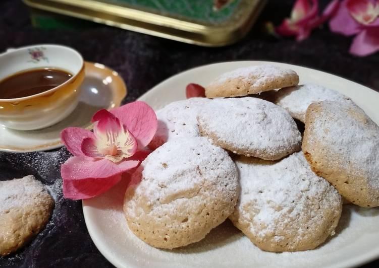 Amaretti de almendra: galletas italianas
